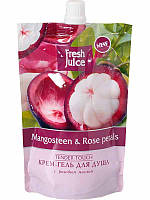 """Fresh Juice"" Kрем-гель для душа дой-пак Mangosteen & Rose petals ""Tender Touch"""