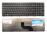 Оригинальная клавиатура для ноутбука ACER Aspire E1-521 TravelMate 5335 8572, rus, black