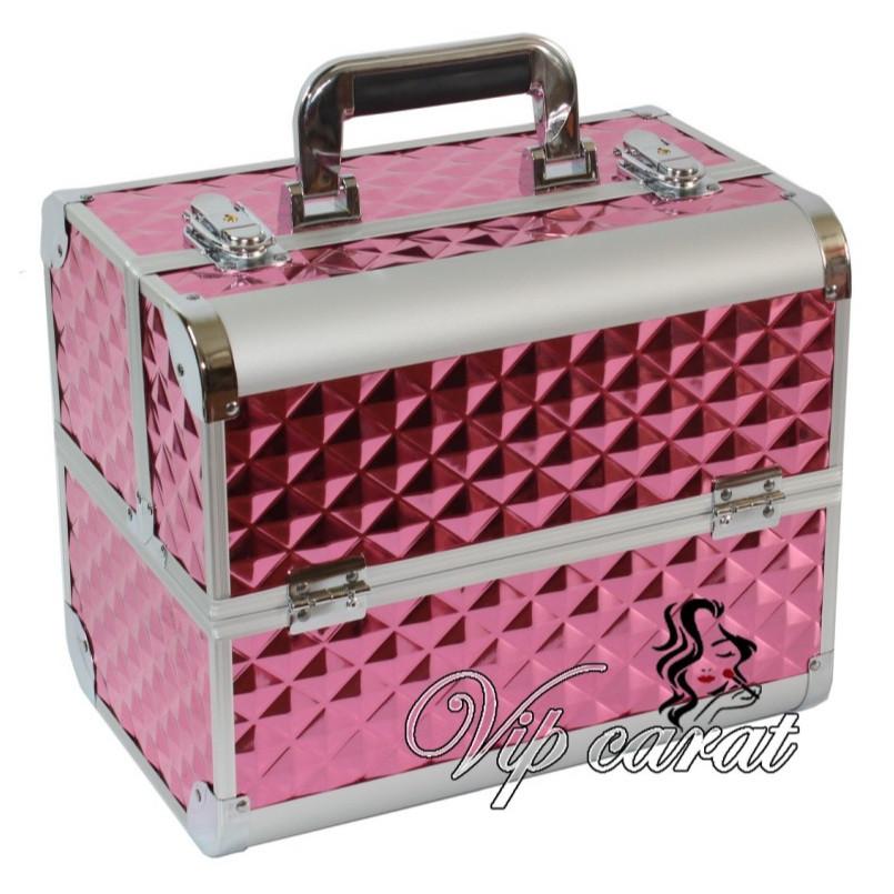 Бьюти кейс для косметики, чемодан для визажиста, мастера маникюра