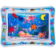 Детский коврик Морское дно с водой Lindo