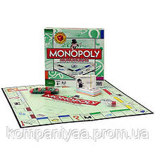 Настільна гра монополія 6123 з метав. фігурками