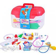 Дитячий ігровий набір юного лікаря М 0460 у валізі