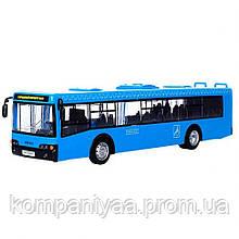 Дитячий іграшковий інерційний Автобус KS7101 (Синій)
