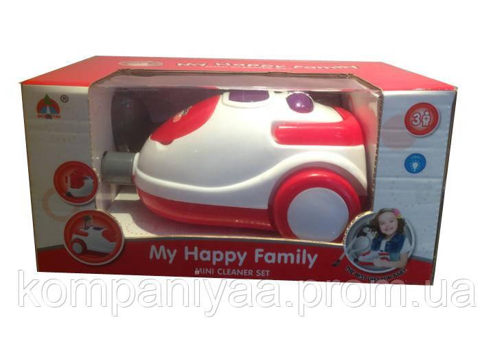 Детский игрушечный пылесос 5209 со звуком и светом