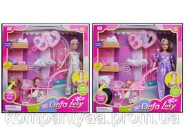 Лялька типу Барбі Defa Lucy з дитиною і аксесуарами 8049