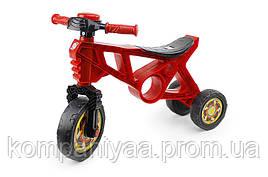 Дитячий мотоцикл-біговел триколесний з гудком 171R Червоний
