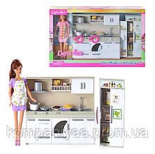 Лялька типу Барбі DEFA з продуктами 6085