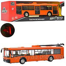 Дитячий іграшковий інерційний тролейбус AS -1825