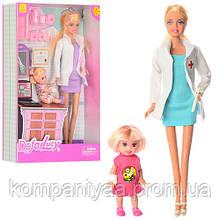 Лялька типу барбі DEFA лікар 8348