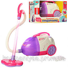 Детский игрушечный пылесос со звуком и светом 5912