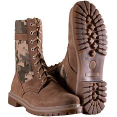 Ботинки Берцы COYOTE ММ14 демисезонные кожаные  с 38 по 46