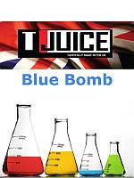Набор для замеса жидкости T-Juice Blue Bomb 100 мл.