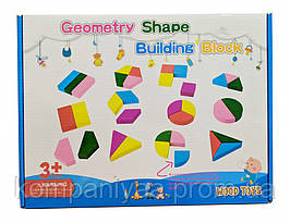 Розвиваюча дерев'яна іграшка Геометрика MD 2329А