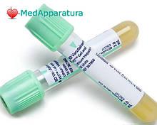 Пробірка BD Vacutainer PPT гель + Li-гепарин 16х100, 8 мл, уп. 100 шт.