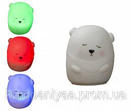 """Детский светильник-ночник сенсорный """"Медведь"""" MTY-214"""