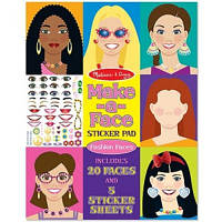 Набор для творчості Melissa&Doug стикеры 'Make-up' (MD14195)