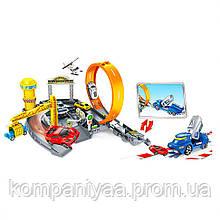 Детский игровой автотрек с мертвой петлей и машинками P876-A