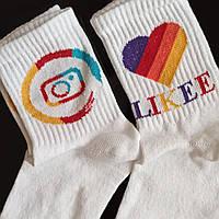 Шкарпетки жіночі Тік-ток, Инстаграмм, Лайки