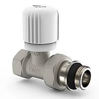 """Радіаторний вентиль 1/2"""" V&G ручного регулювання  прямий VG-601101"""