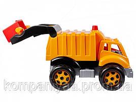 Детская машинка Мусоровоз с контейнером 1752TXK (Желтый)