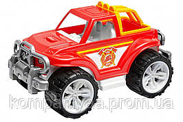 """Игрушечный джип """"Пожарная"""" с  открытым кузовом 3541TXK (Красный)"""