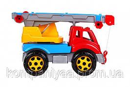 Детская игрушечная машина Автокран 4562TXK (Разноцветный)