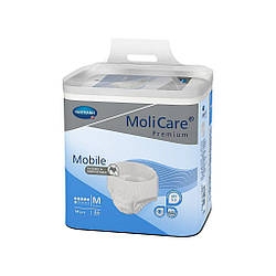 Трусы поглощающие для взрослых, страдающих недержанием MoliCare® Premium Mobile 6 капель M 14шт / уп.