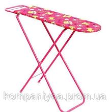Детская игрушечная гладильная доска на ножках 9327/022 (Розовая)
