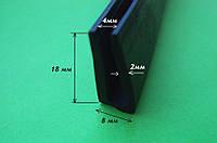 Резиновые уплотнители П-образные 4мм