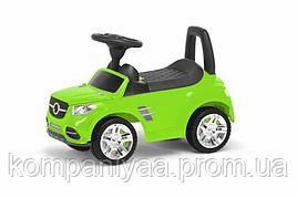 """Іграшка дитяча каталка-толокар """"Машинка"""" MB 2-001 (Салатовий)"""