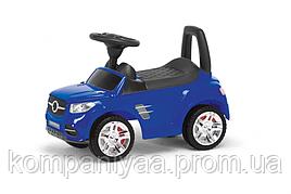 """Іграшка дитяча каталка-толокар """"Машинка"""" MB 2-001 (Синій)"""