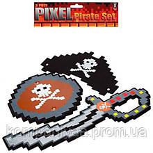 """Детский игровой набор """"Пирата"""" из мягкого материала EVA 16043"""