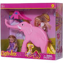 Лялька типу Барбі діти з ігровим майданчиком DEFA 8277