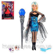 Лялька типу Барбі з чарівною паличкою, на шарнірах DEFA 8395-BF (Блакитний)