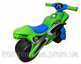 Дитячий мотоцикл-беговел 2-х колісний 0138/520 (Зелений)
