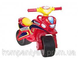 Дитячий беговел-мотоцикл двоколісний 0138/560 (Червоний)
