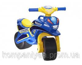 Дитячий мотоцикл-беговел 2-х колісний 0138/570 (Синій)