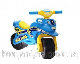 Дитячий мотоцикл-беговел 2-х колісний 0138/10 (Блакитний)