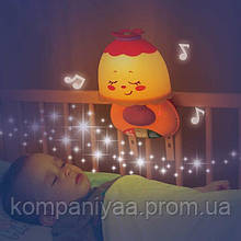 Детский музыкальный светильник-ночник на кроватку 1107