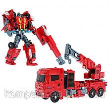 """Детский робот-трансформер """"Автокран"""" J8016 (Красный)"""