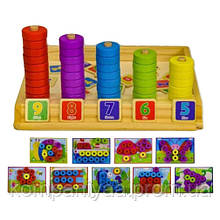 Дитяча дерев'яна іграшка Сортер WD2305