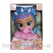 Детская маленькая кукла Cry Babies с аксессуарами 655