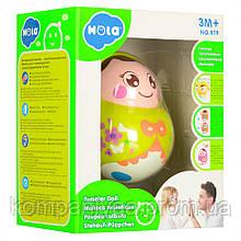 Дитяча іграшка Неваляшка 979 (Зелений)