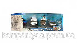 """Детский игрушечный набор спецтранспорта """"Полиция"""" 22172"""