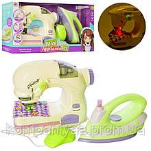 Детский игрушечный набор бытовой техники 6701A швейная машинка и утюг