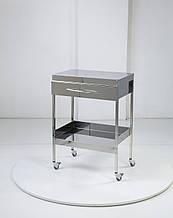 Медичний столик на 2 полки з ящиком Медапаратура