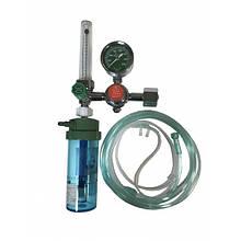 Увлажнитель кислорода Y-006 с расходомером и редуктором (кислородный регулятор) Медаппаратура
