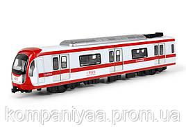 Дитячий іграшковий інерційний поїзд MS1525N (Червоний)