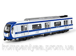 Детский игрушечный инерционный поезд MS1525N (Синий)