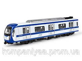 Дитячий іграшковий інерційний поїзд MS1525N (Синій)